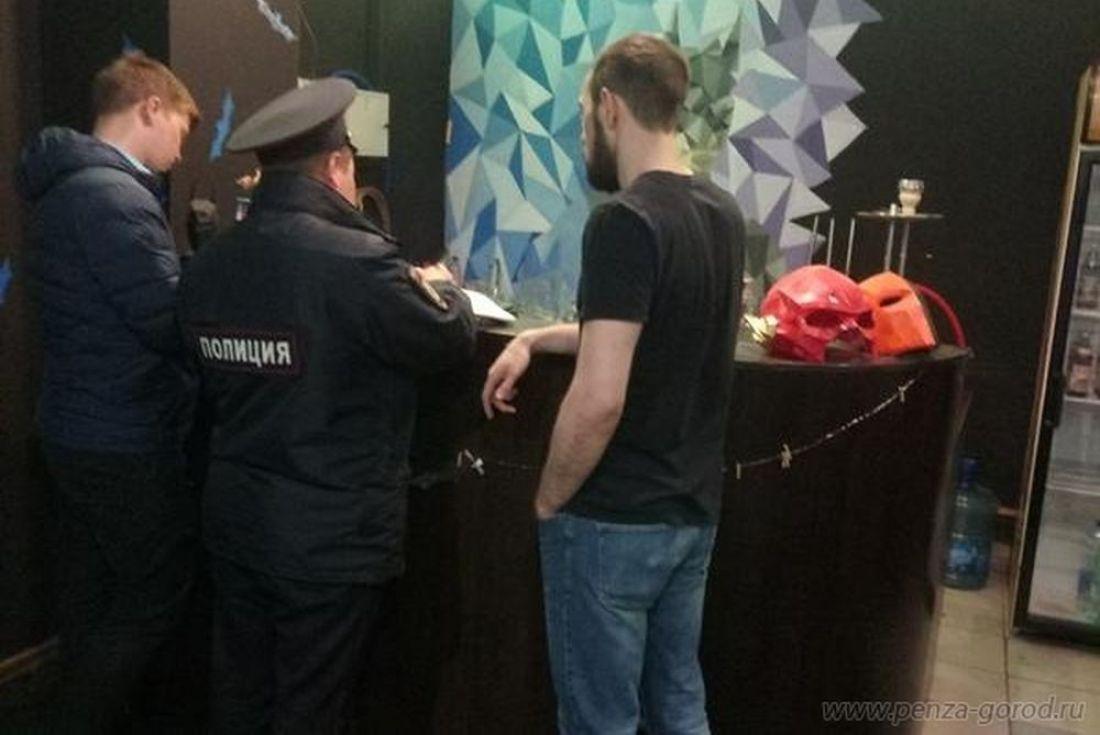 Пензенская полиция попробовала приструнить буйный «Готэм»