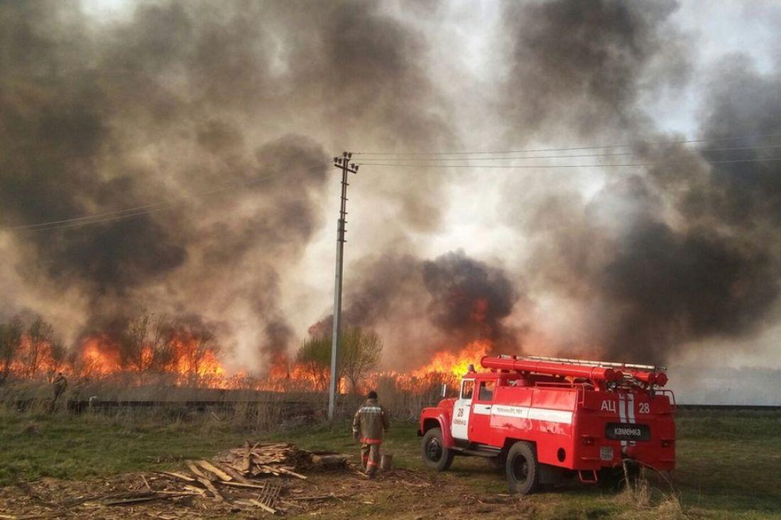 Апокалипсис сегодня. Вокруг райцентра Пензенской области третий день полыхают пожары. Фото