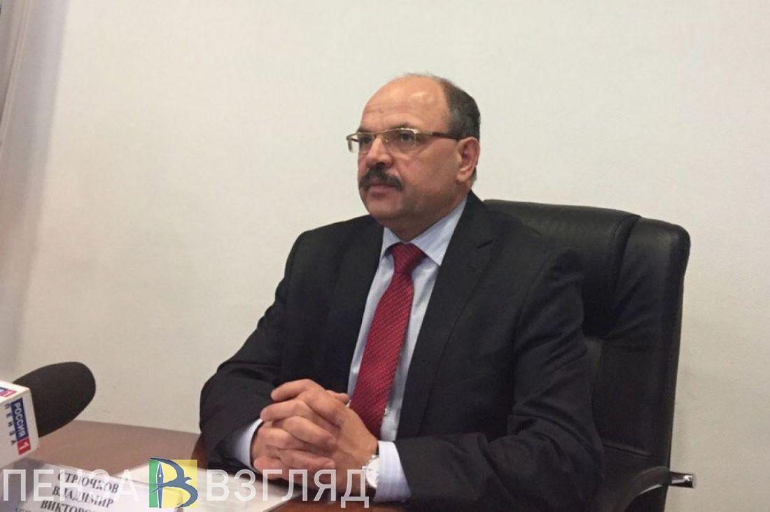 В Пензе распространяется информация об отставке министра Владимира Стрючкова
