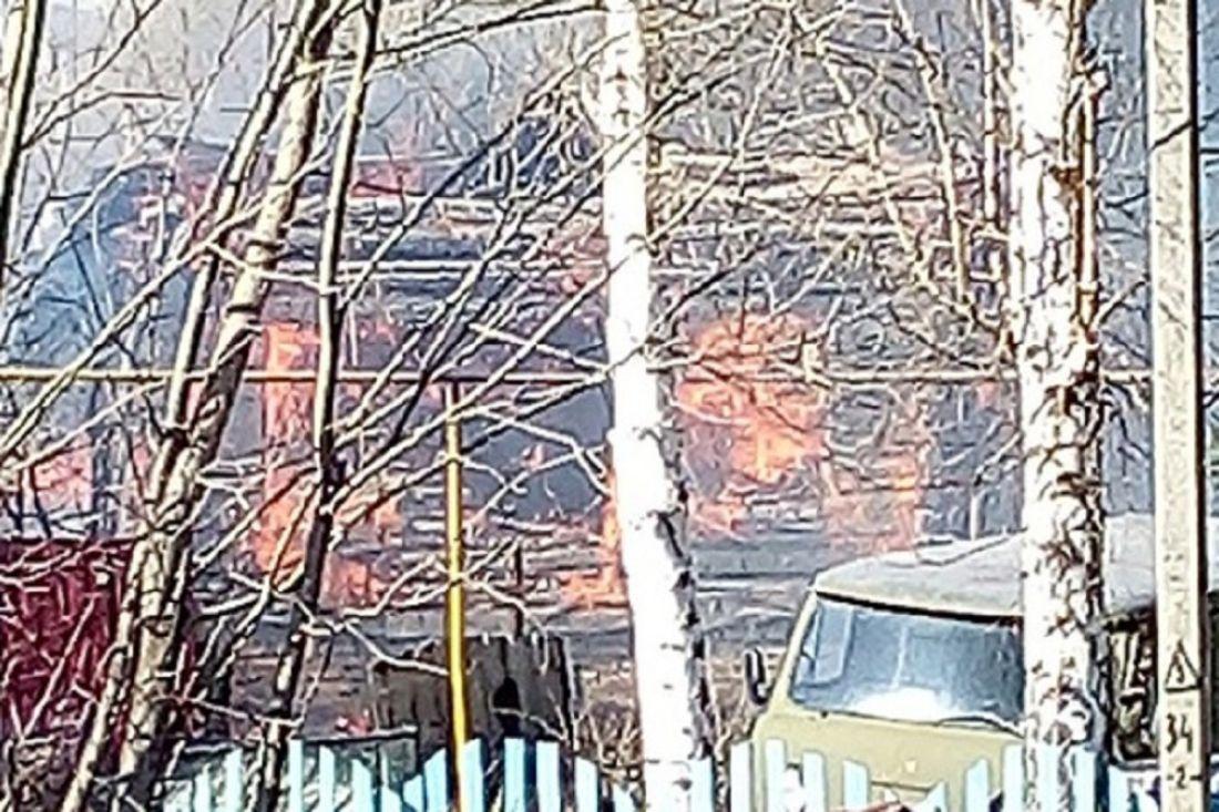 Стали известны подробности крупного пожара в Бессоновке Пензенской области